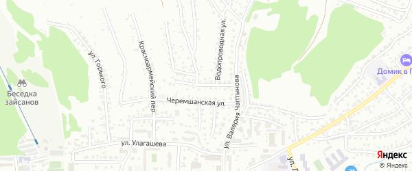 Огородная улица на карте Горно-Алтайска с номерами домов