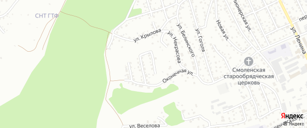 Улица Глухарева на карте Горно-Алтайска с номерами домов