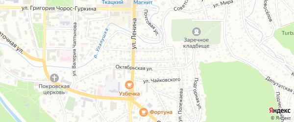 Интернациональная улица на карте Горно-Алтайска с номерами домов