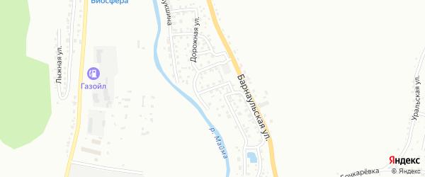 Улица В.К.Плакаса на карте Горно-Алтайска с номерами домов