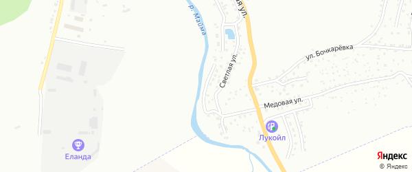 Автодромный переулок на карте Горно-Алтайска с номерами домов