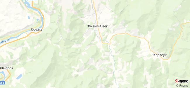 Верх-Учек на карте