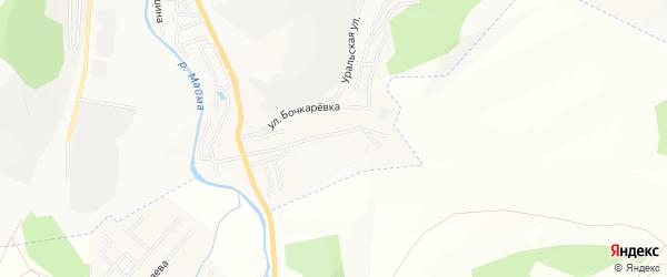 Садовое товарищество Динамо на карте Горно-Алтайска с номерами домов