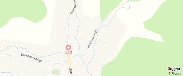 Чичкинская улица на карте села Бешпельтир Алтая с номерами домов