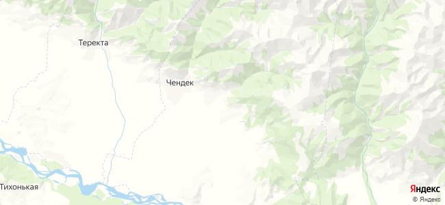 Маргала на карте