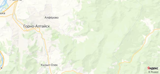 Улалушка на карте