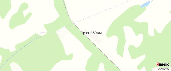 Карта разъезда 169 км в Кемеровской области с улицами и номерами домов
