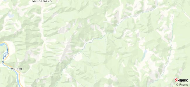 Куюм на карте
