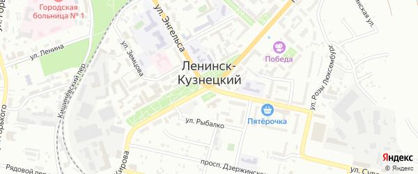 3-й ряд на карте территории Площадки N 59 с номерами домов