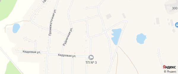 Улица Рудничный городок на карте Березовского с номерами домов