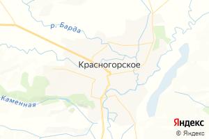 Карта с. Красногорское Алтайский край