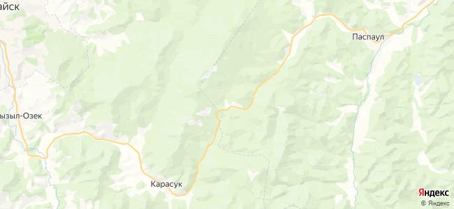 Сухой-Карасук на карте