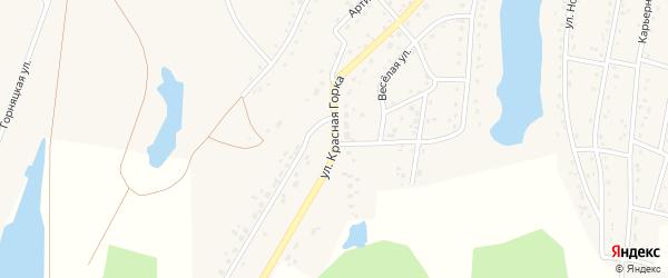 Улица Красная Горка на карте Березовского с номерами домов