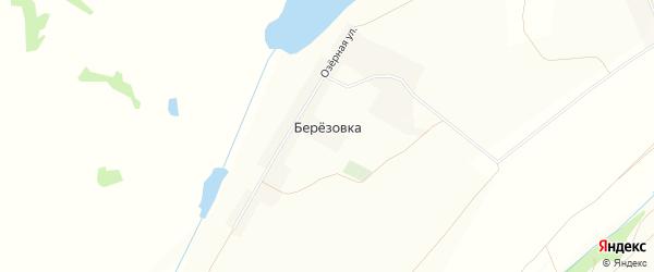 Карта поселка Березовки в Кемеровской области с улицами и номерами домов