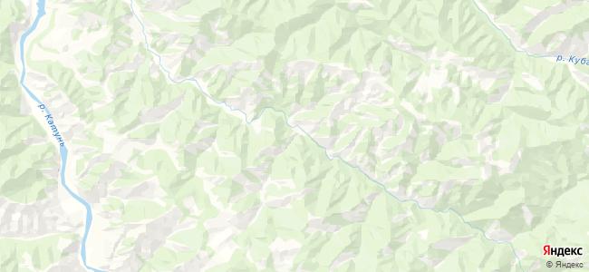 Актел на карте