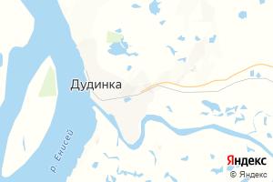 Карта г. Дудинка Красноярский край