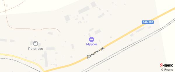 Дальняя улица на карте Дудинки с номерами домов