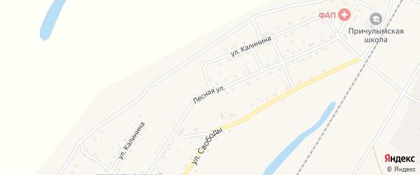 Улица им Калинина на карте Асино с номерами домов