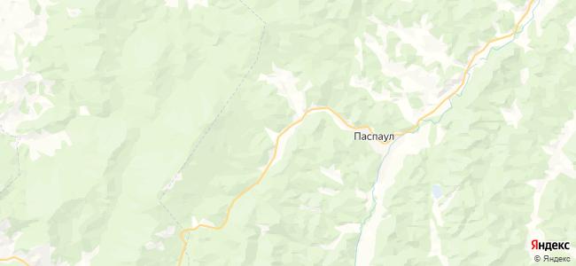 Сугул на карте