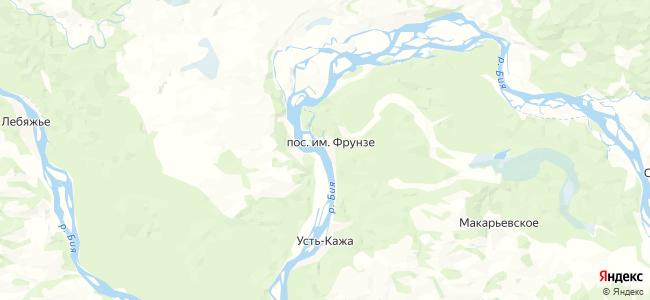 Им Фрунзе на карте