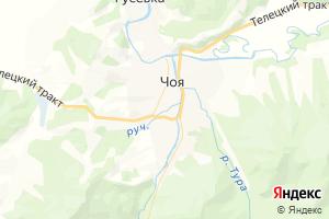 Карта с. Чоя