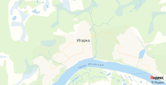 Карта Игарки с улицами и домами подробная. Показать со спутника номера домов онлайн
