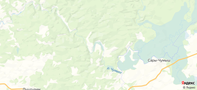 Вятск на карте