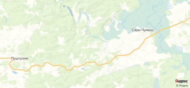 Казанск на карте