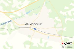 Карта пос. Ижморский Кемеровская область