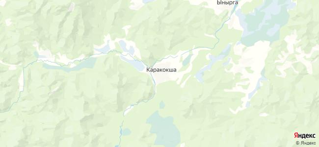 Каракокша на карте