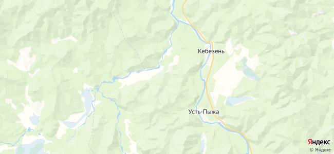 Сюря на карте