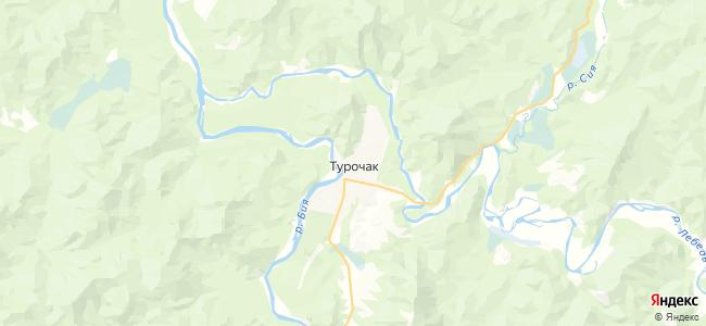 Турочак на карте