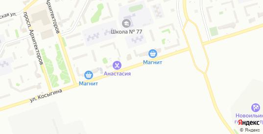 Улица Косыгина в Новокузнецке с номерами домов на карте. Спутник и схема онлайн