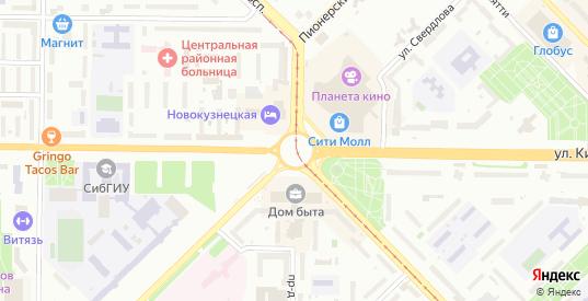 СНТ Геолог в Новокузнецке с номерами домов на карте. Спутник и схема онлайн