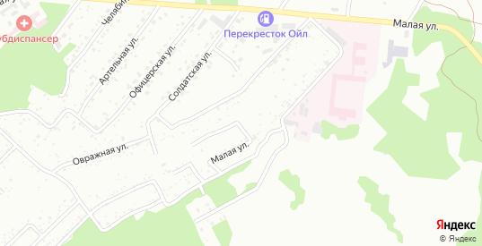 ГСК Строитель в Новокузнецке с номерами домов на карте. Спутник и схема онлайн