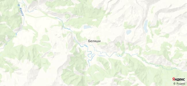 Беляши на карте