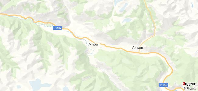 Чибит на карте