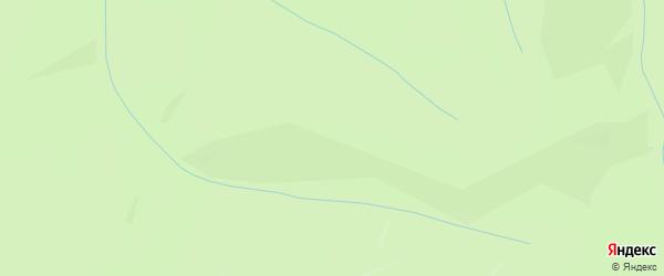 Территория СНТ Березка на карте Новокузнецкого района Кемеровской области с номерами домов