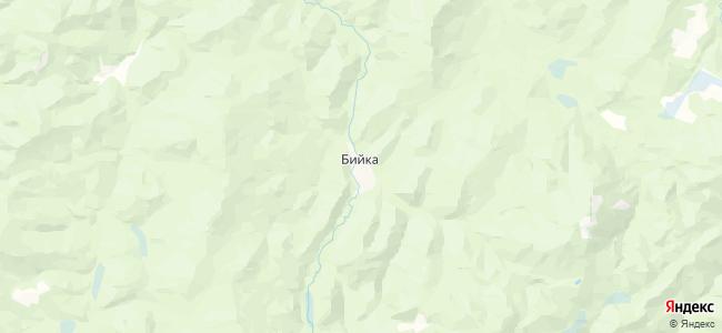 Бийка на карте