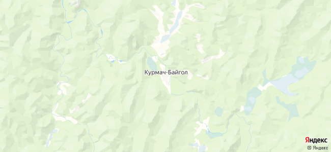 Курмач-Байгол на карте