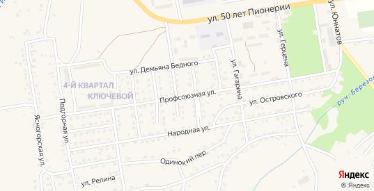 Профсоюзная улица в Мыски с номерами домов на карте. Спутник и схема онлайн