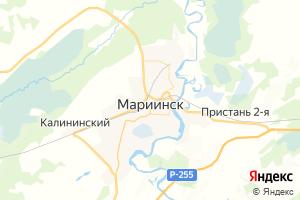 Карта г. Мариинск Кемеровская область
