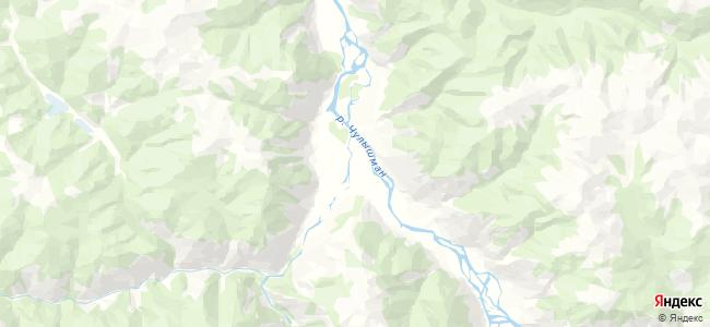 Кок-Паш на карте