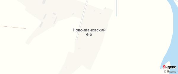 Набережная улица на карте Новоивановского 4-й поселка Кемеровской области с номерами домов