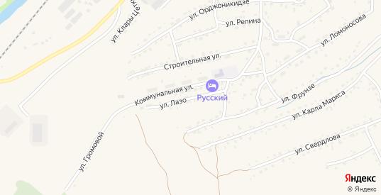 Улица Лазо в Таштаголе с номерами домов на карте. Спутник и схема онлайн