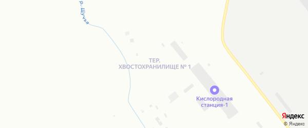 Территория гора Шмидта на карте территории Хвостохранилища N 1 с номерами домов