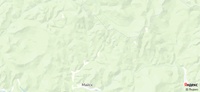 Чаныш на карте