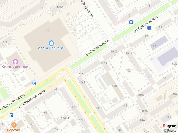 Карта норильска с улицами фото