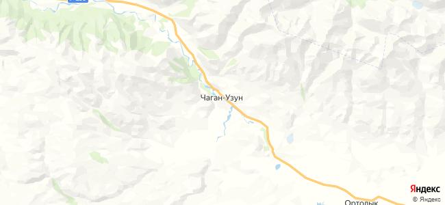 Чаган-Узун на карте