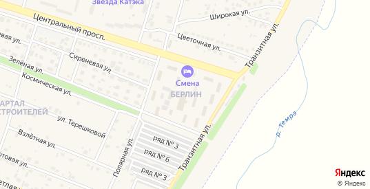 Микрорайон Берлин в Шарыпово с номерами домов на карте. Спутник и схема онлайн